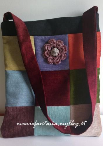 borsa,patchwork,tutorial,facile