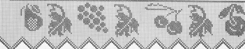 Schemi di pizzi e tramezzi all 39 uncinetto manifantasia Pizzi all uncinetto per credenze