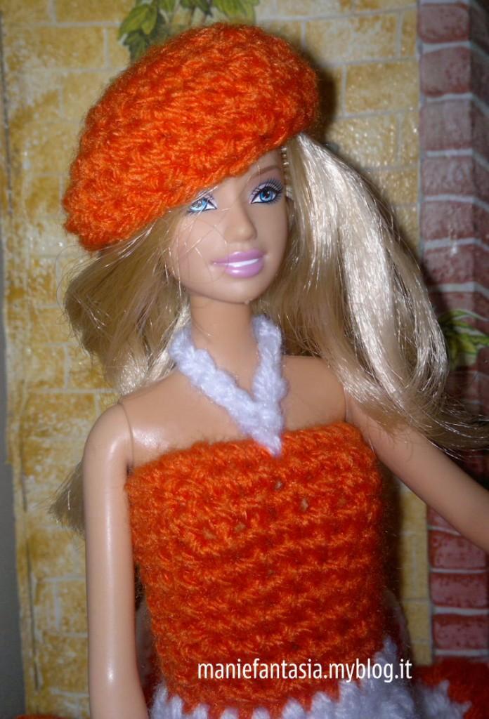 Vestito Barbie Uncinetto Schema Italiano Manifantasia