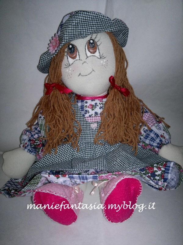 Bien connu bambola di pezza cucito creativo - manifantasia OH88