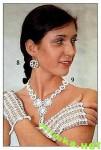 collana,guanti,orecchini,accessori,sposa,uncinetto,crochet