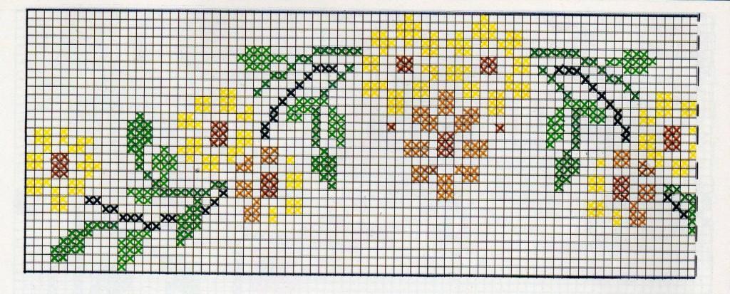 Schemi punto croce manifantasia - Disegni punto croce per tovaglie da tavola ...
