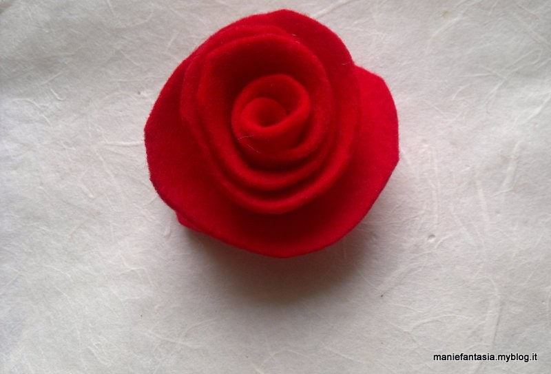 Rose Di Pannolenci Tutorial Metodo 1 Manifantasia