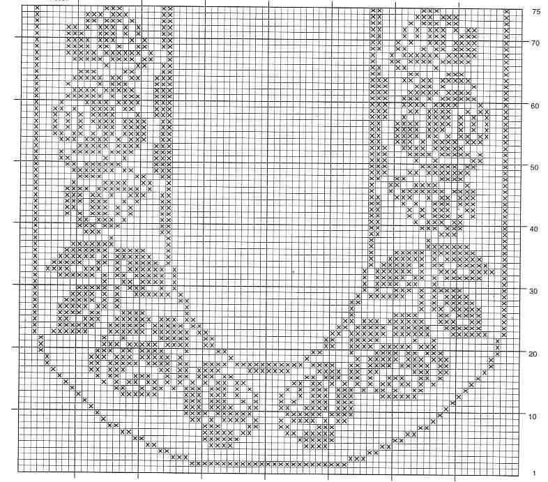 schemi di centri a filet uncinetto da stampare - manifantasia
