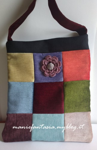 borsa,patchwork,tutorial
